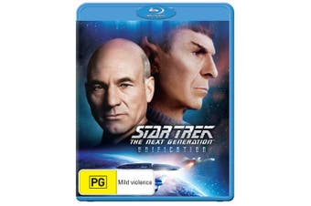 Star Trek the Next Generation Unification Blu-ray Region B