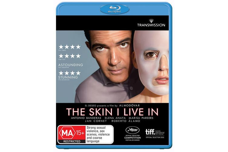 The Skin I Live In Blu-ray Region B