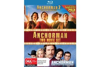 Anchorman / Anchorman 2 Blu-ray Region B