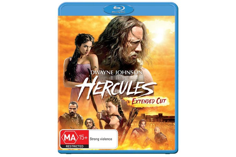 Hercules Extended Cut Blu-ray Region B