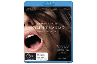 Nymphomaniac Volume II Blu-ray Region B