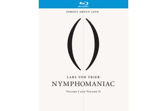 Nymphomaniac Volumes I and II Blu-ray Region B