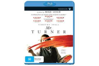 Mr Turner Blu-ray Region B