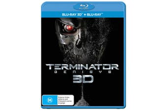 Terminator Genisys 3D Edition with 2D Edition Blu-ray Region B