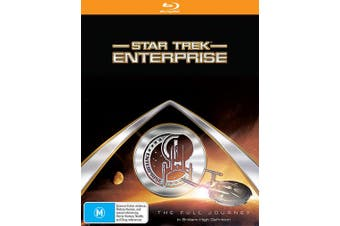 Star Trek Enterprise The Complete Collection Blu-ray Region B
