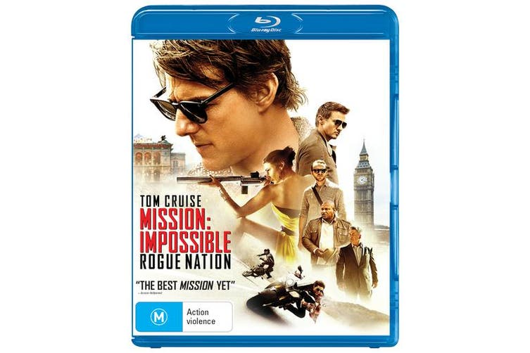 Mission Impossible Rogue Nation Blu-ray Region B