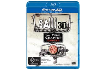Saw The Final Chapter 3D Edition Blu-ray Region B