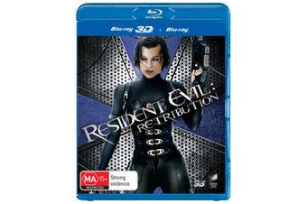 Resident Evil Retribution 3D Edition Blu-ray Region B