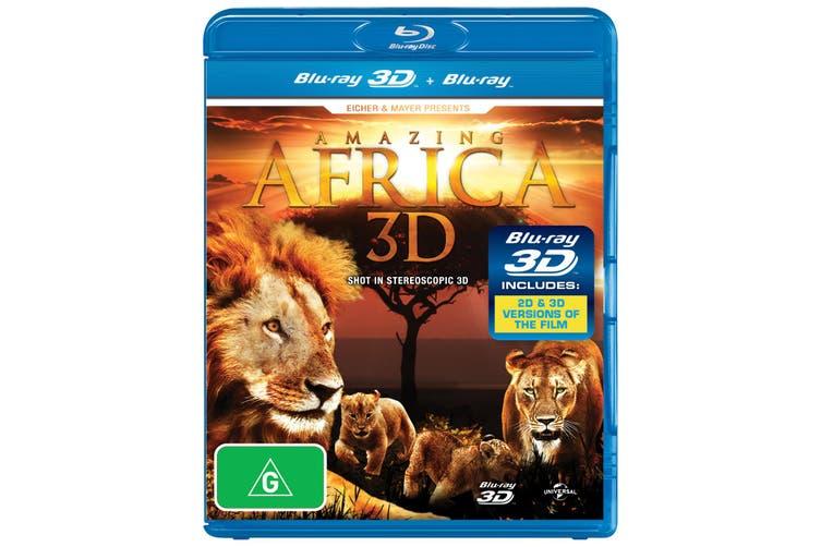 Amazing Africa 3D 3D Edition Blu-ray Region B
