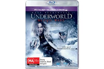 Underworld Blood Wars 3D Edition with 2D Edition Digital Download Blu-ray