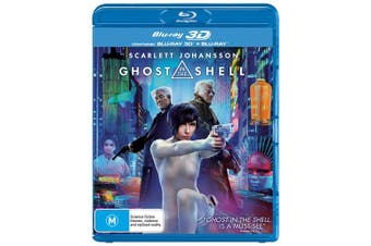 Ghost in the Shell 3D Edition with 2D Edition Blu-ray Region B