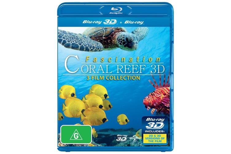 Fascination Coral Reef 3D 3D Edition Blu-ray Region B