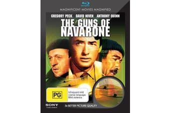 The Guns of Navarone Blu-ray Region B