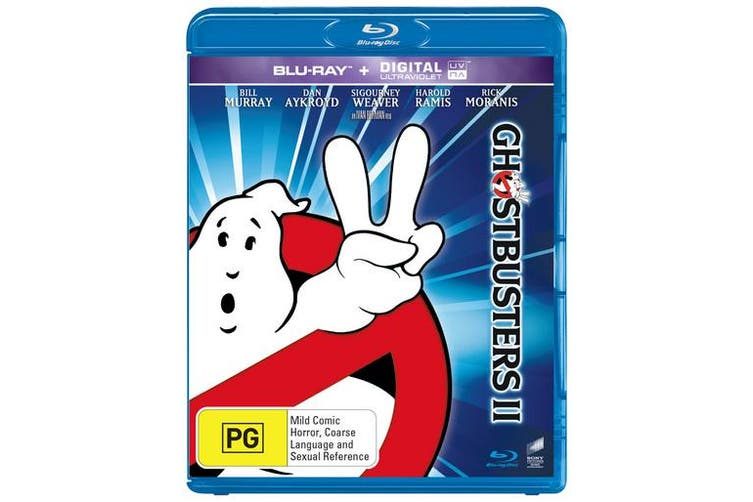 Ghostbusters 2 Blu-ray Region B