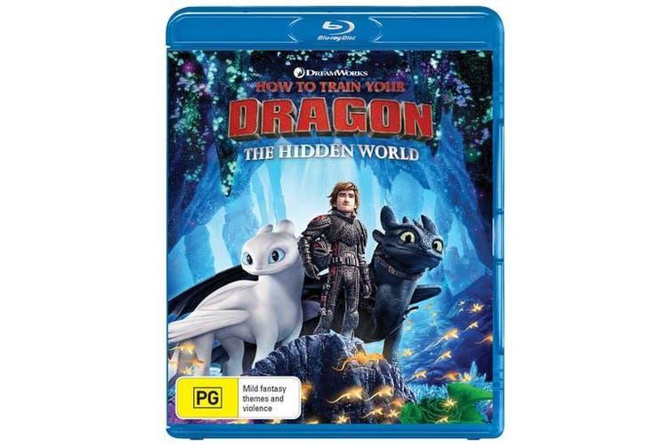 How to Train Your Dragon The Hidden World Blu-ray Blu-ray Region B