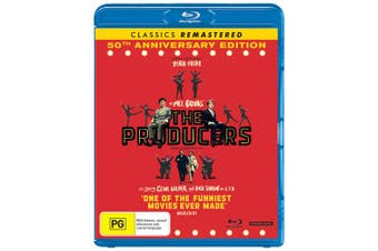 The Producers 50th Anniversary Edition Blu-ray Region B