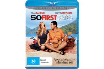 50 First Dates Blu-ray Region B