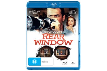 Rear Window Blu-ray Region B