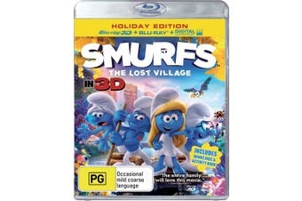 Smurfs The Lost Village 3D Edition with 2D Edition UltraViolet Copy Blu-ray