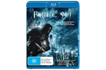 Priest Blu-ray Region B