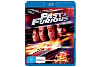 Fast & Furious Blu-ray Region B