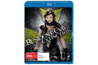 Resident Evil Extinction Blu-ray Region B