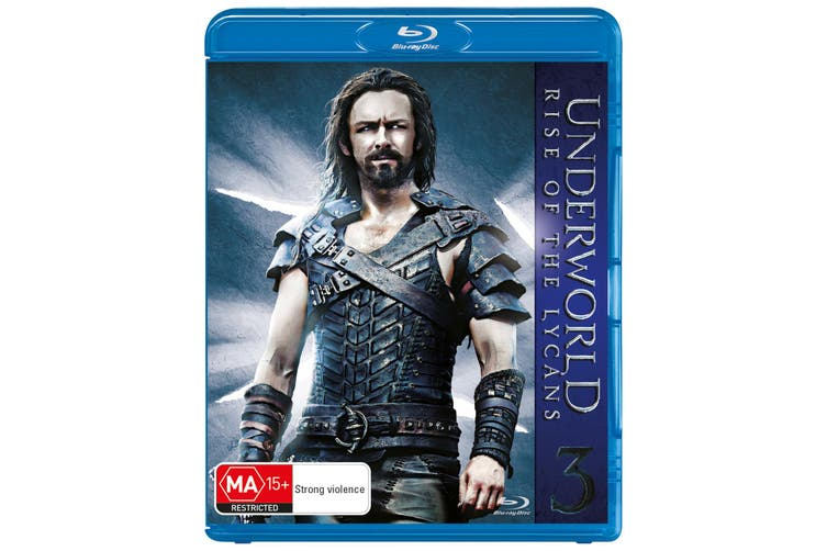 Underworld Rise of the Lycans Blu-ray Region B