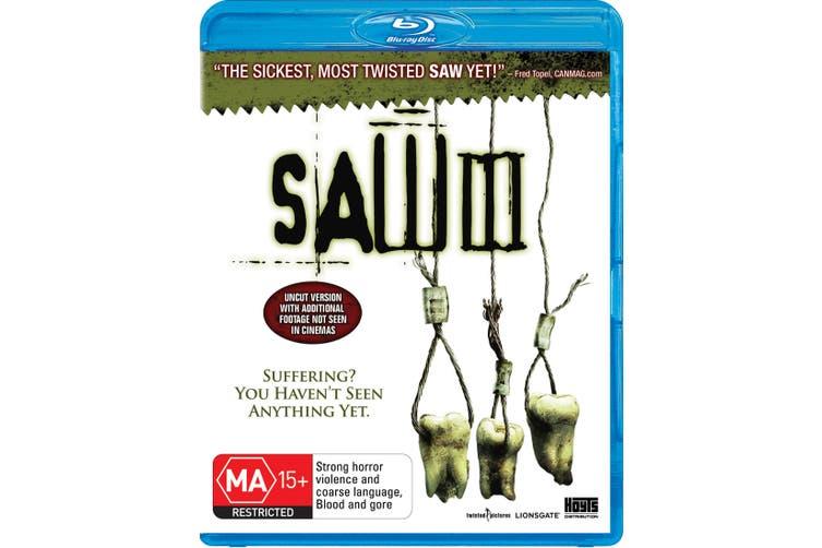 Saw III Blu-ray Region B