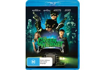 The Green Hornet Blu-ray Region B