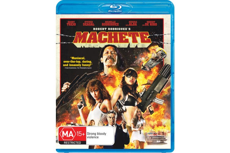Machete Blu-ray Region B