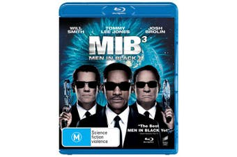 Men in Black 3 Blu-ray Region B