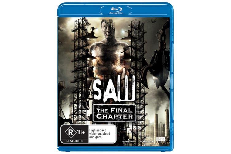 Saw The Final Chapter Blu-ray Region B