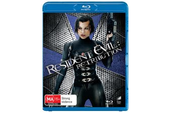Resident Evil Retribution Blu-ray Region B