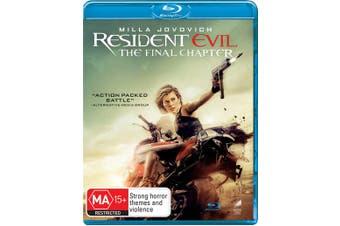 Resident Evil The Final Chapter Blu-ray Region B