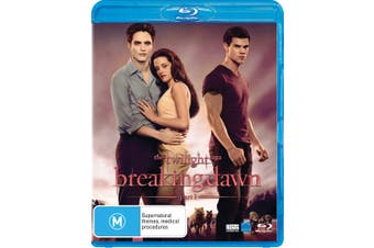 The Twilight Saga Breaking Dawn Part 1 Blu-ray Region B