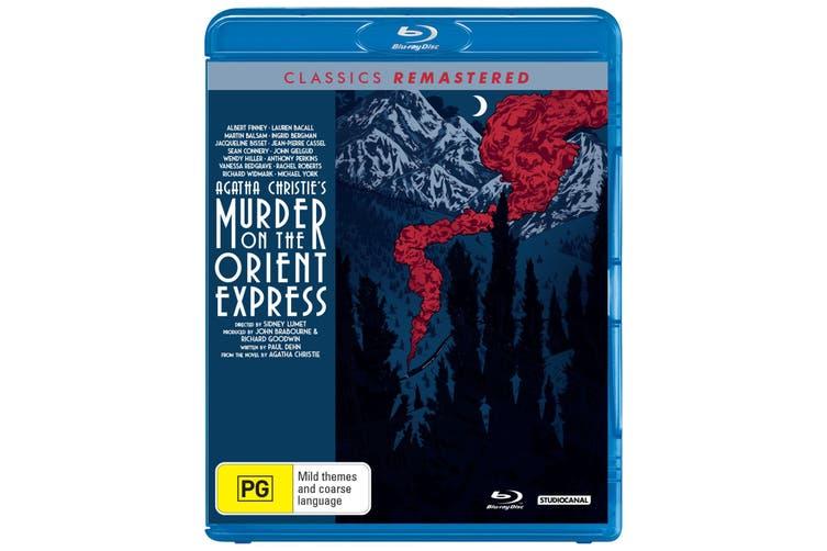 Murder On the Orient Express Blu-ray Region B