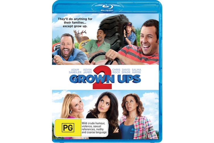 Grown Ups 2 Blu-ray Region B