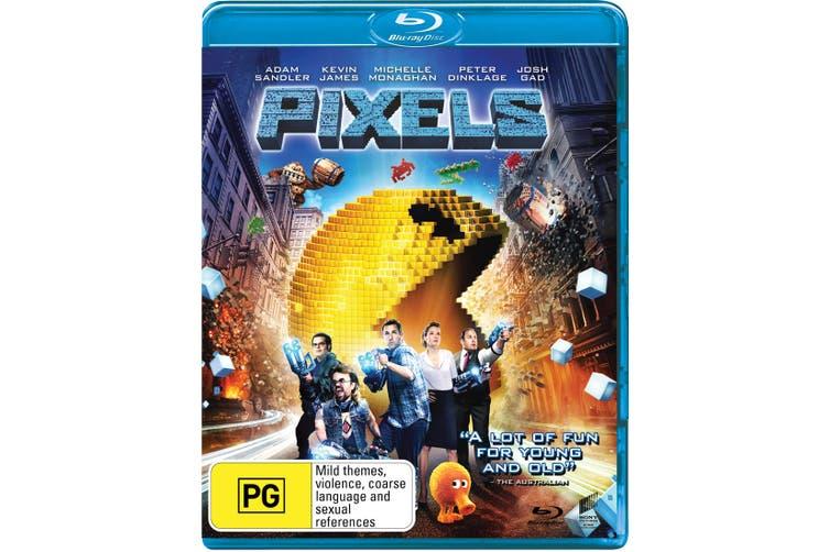 Pixels Blu-ray Region B
