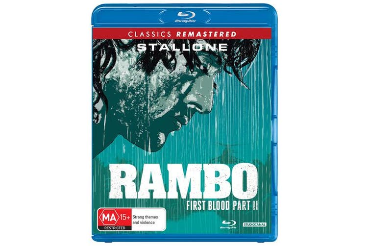 Rambo First Blood Part II Blu-ray Region B