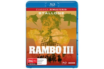Rambo III Blu-ray Region B