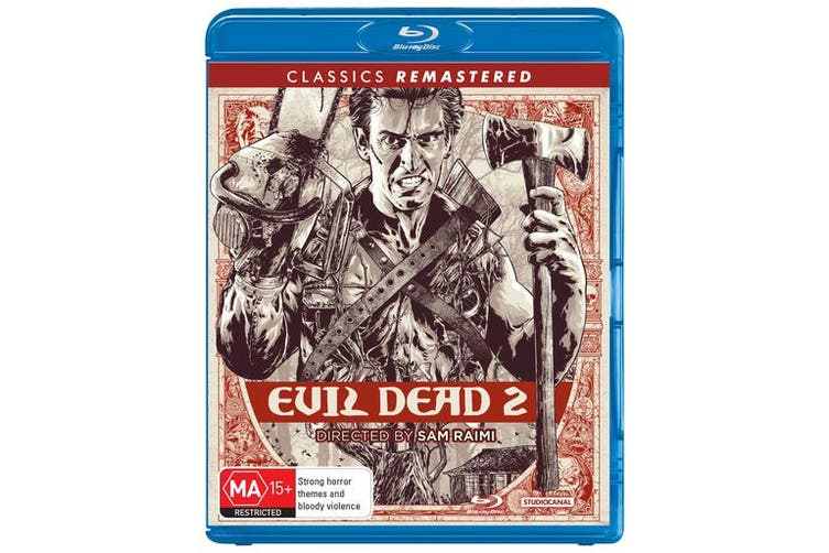 Evil Dead 2 Blu-ray Region B