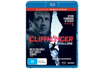 Cliffhanger Blu-ray Region B