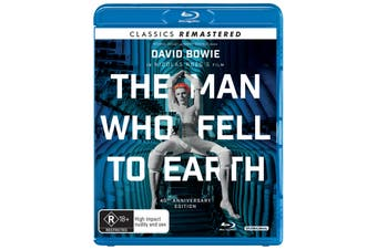 The Man Who Fell to Earth Blu-ray Region B