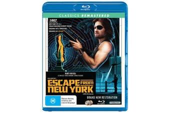 Escape from New York Blu-ray Region B