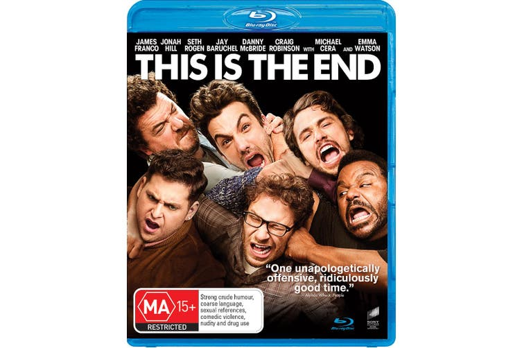 This Is the End Blu-ray Region B