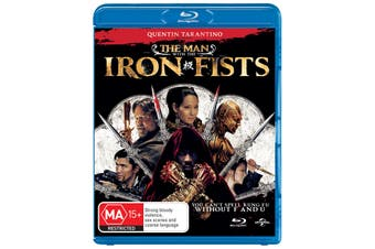 The Man With the Iron Fists Blu-ray Region B