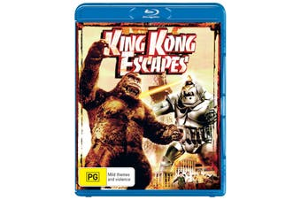 King Kong Escapes Blu-ray Region B