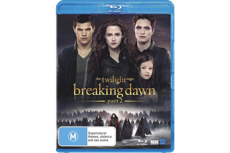 The Twilight Saga Breaking Dawn Part 2 Blu-ray Region B