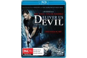 Deliver Us from Evil Blu-ray Region B