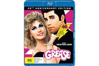 Grease 40th Anniversary Edition Blu-ray Region B